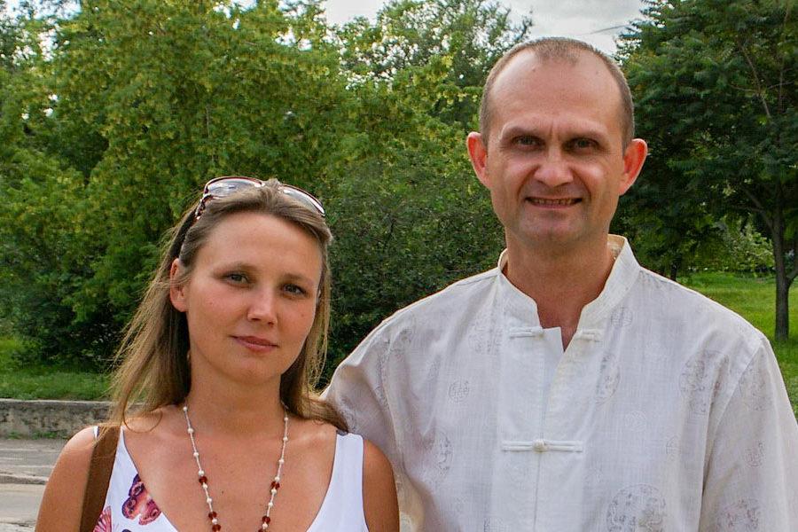Наталья Кобзарь и Сергей Шакола