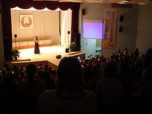Выступление Натальи Кобзарь, Минск