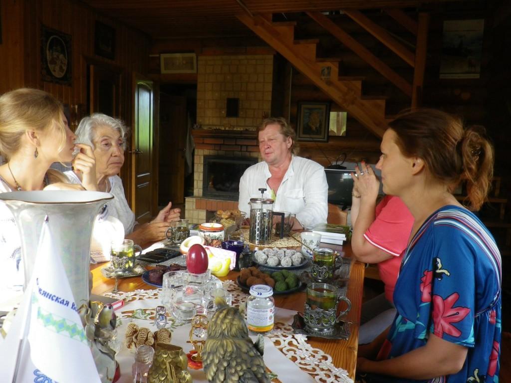 Наталья Кобзарь и Марва Оганян