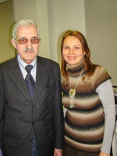 Наталья Кобзарь и Валентин Николаев