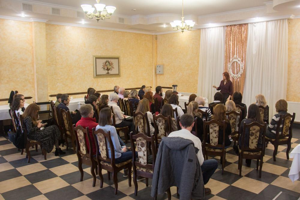 20.11.2020 Лекция Натальи Кобзарь в г. Запорожье
